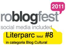 RoBlogFest 2011 Literparc
