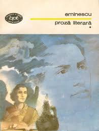 Mihai Eminescu, Proză literară