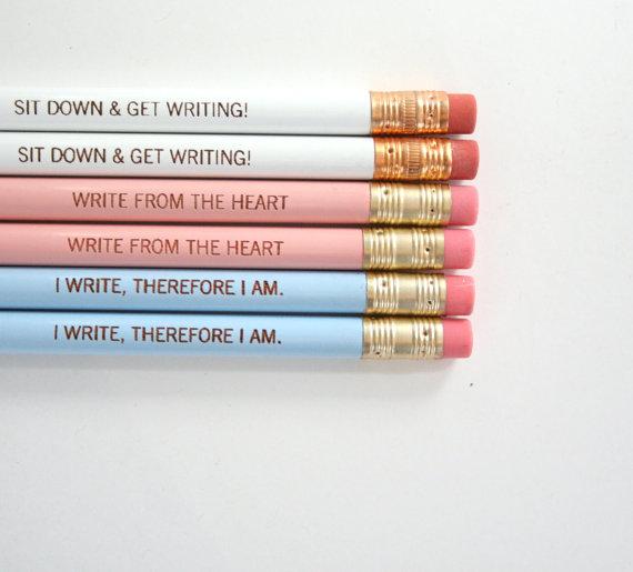 Mesaje pe creioane