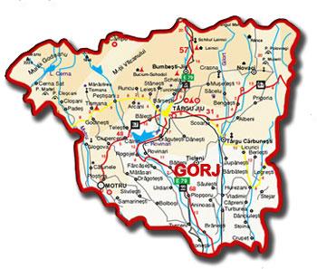 harta Gorjului