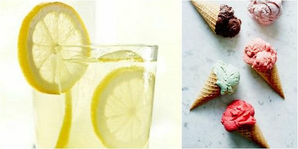 cuvinte estivale si formele de plural pentru inghetata si limonada