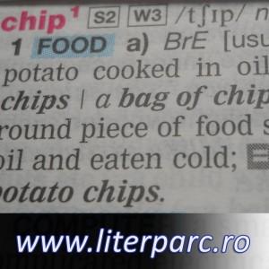 Cuvântul chip în dicționarul englezesc