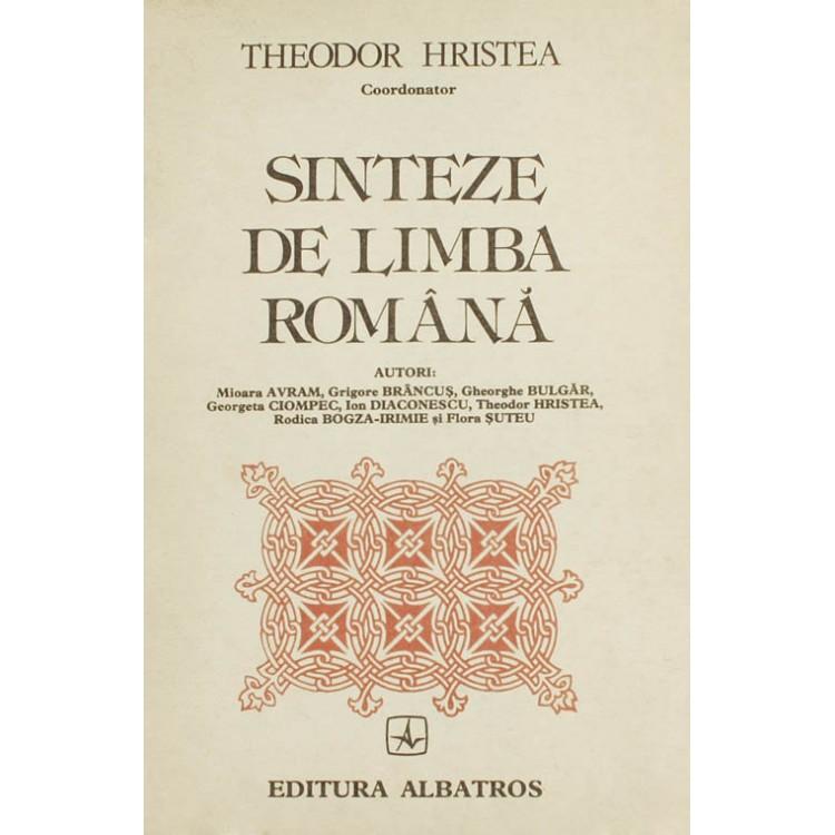 Theodor Hristea (coord.), Sinteze de limba română