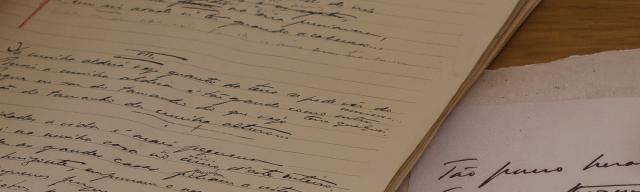 pessoa manuscris